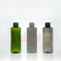 Ba mẫu chai nhựa pet 100ml xanh trắng đen