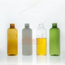 Bộ chai nhựa pet 100ml vai tròn 4 màu