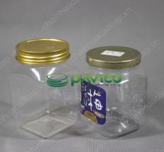 Hũ nhựa pet đựng thực phẩm đồ khô