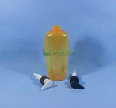 Chai dầu gội đầu, sữa tắm HDPE 750ml nắp bơm kem