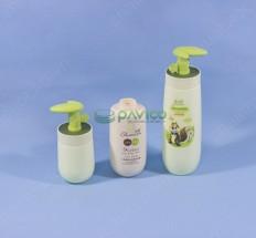 Chai dầu gội đầu nắp bơm kem nhựa HDPE 220ml - 500ml