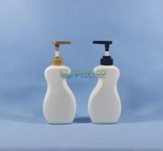 Chai đựng dầu gội đầu HDPE 120ml/400ml nắp bơm kem