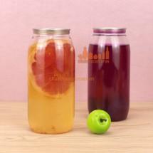 Chai lọ nhựa đựng nước trái cây hoa quả 500ml 650ml