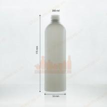Chai nhựa đựng dầu gội sữa tắm 300ml dáng cao