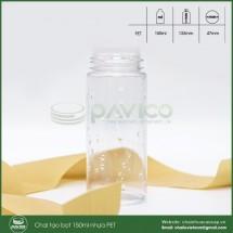 Chai tạo bọt 150ml nhựa PET trong