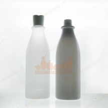 Chai nhựa pet 500ml nhựa pet trắng mờ
