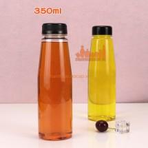 Chai nhựa pet đựng nước giải khát vát vai 360ml