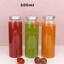 Chai nhựa pet đựng nước trái cây giải khát 500ml