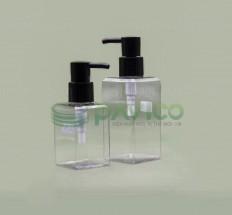 Chai nhựa pet đựng sữa tắm mỹ phẩm nắp bơm