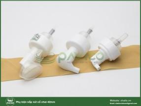 Chai nhựa PET trắng sứ tạo bọt 100ml