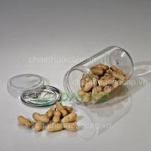 Hũ nhựa đựng thực phẩm 1000ml 83.3x160mm HTP-33