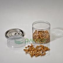 Hũ nhựa đựng thực phẩm 170ml 63.3x60mm HTP-19