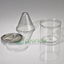 Hũ nhựa đựng thực phẩm 680ml 98.9x100mm HTP-30