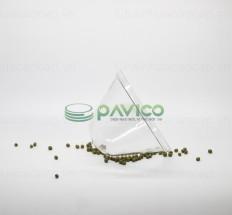 Hũ nhựa đựng thực phẩm nắp nhôm xé 650ml