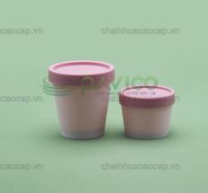 Hũ nhựa làm kem sữa chua 50g 100g