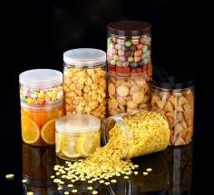 Hũ nhựa pet đựng hoa quả sấy hạt khô các loại