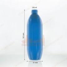 Vỏ chai nhựa dáng eo 230ml