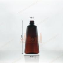Vỏ chai nhựa pet 150ml dáng chóp cụt