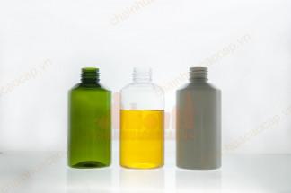 Vỏ chai nhựa pet 150ml vai vát
