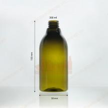 Vỏ chai nhựa pet 300ml đựng sữa tắm dầu gội