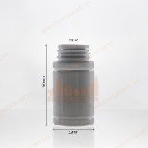 Vỏ lọ nhựa đựng thuốc viên dược phẩm 100cc