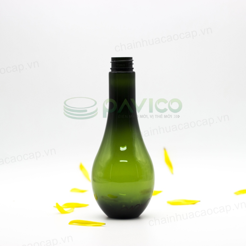 chai nhựa pet bầu dục 250ml