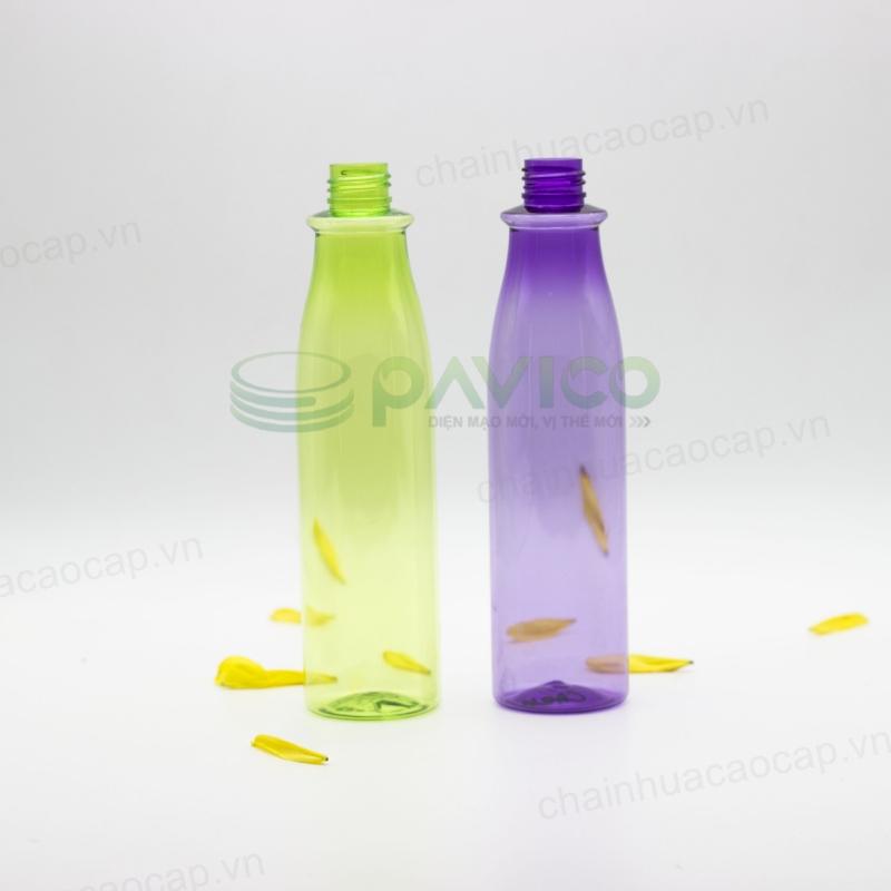 chai nhựa pet 250ml