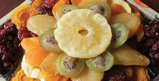 hoa quả sấy