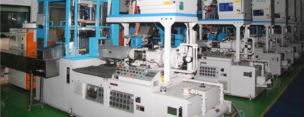 dây chuyền sản xuất chai nhựa pet