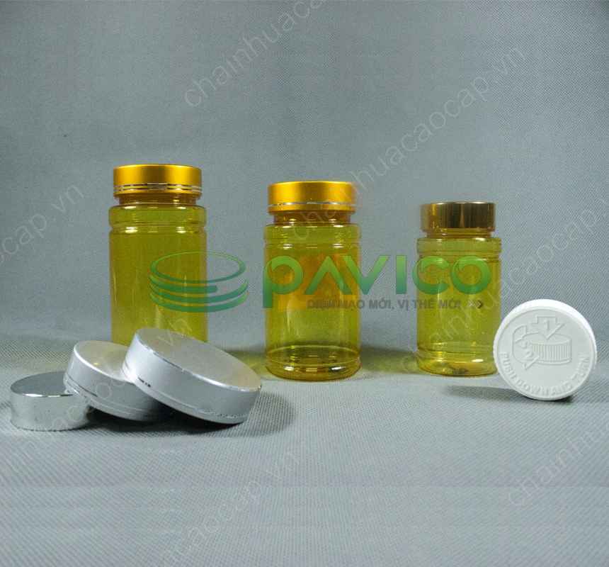lọ nhựa dược phẩm