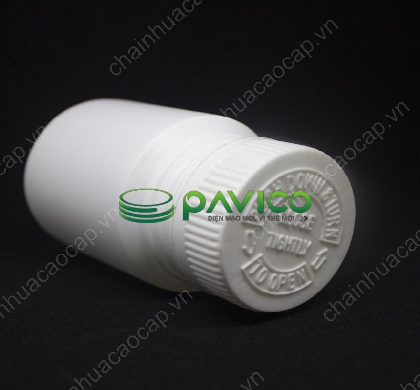 chai nhựa dược phẩm