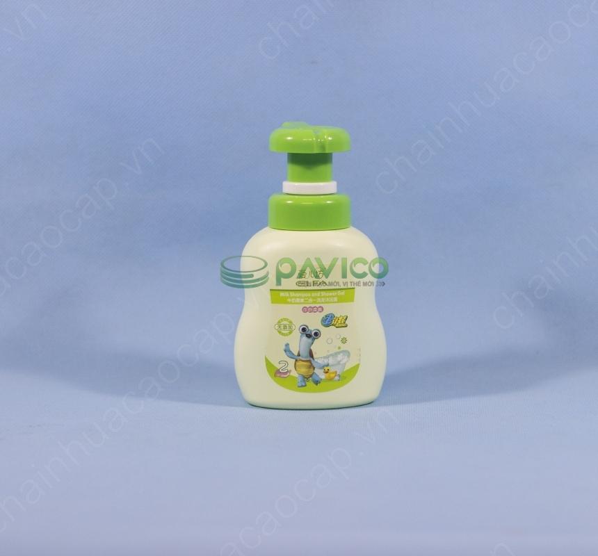 Chai lọ đựng sữa tắm trẻ em 420ml