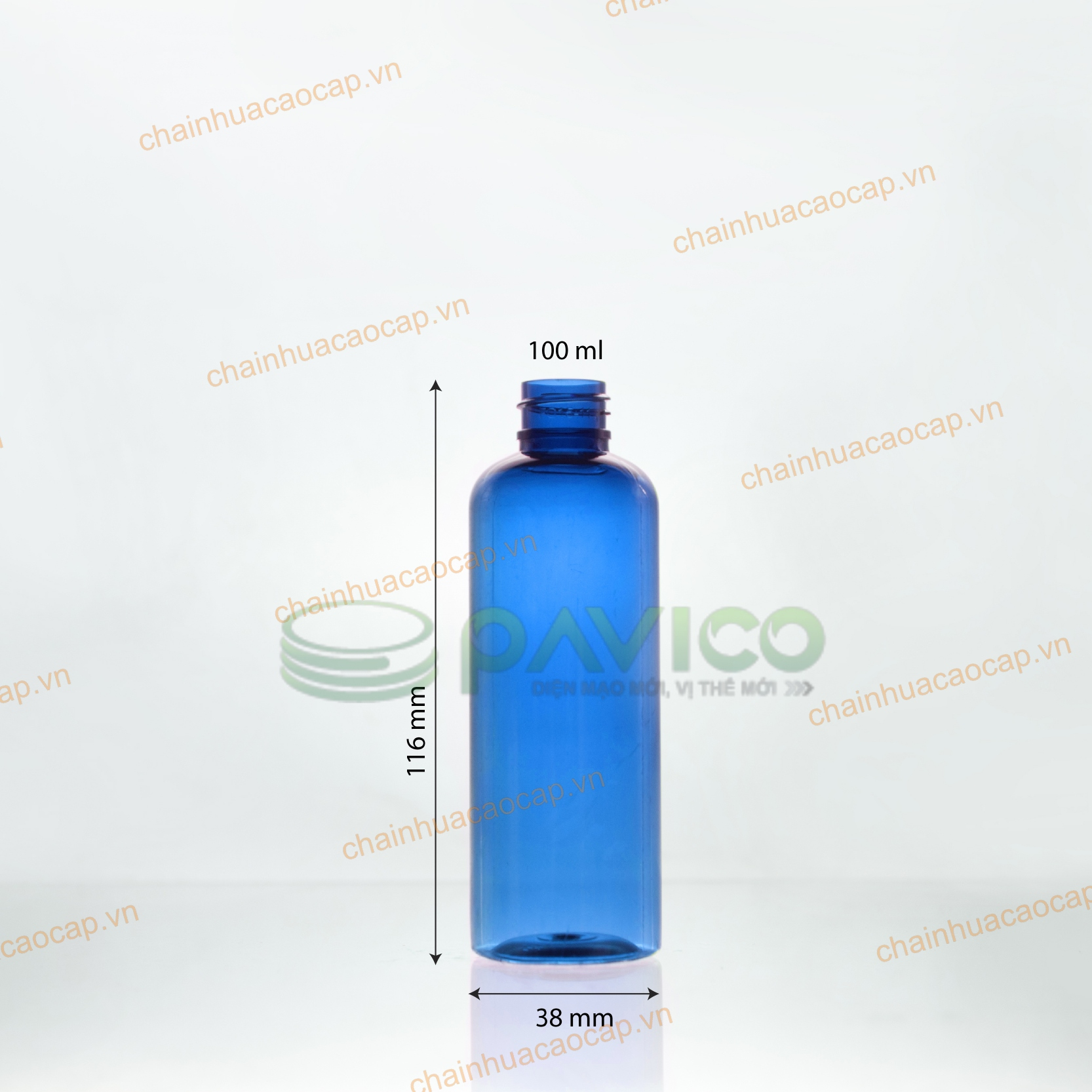 chai nhựa pet 100ml