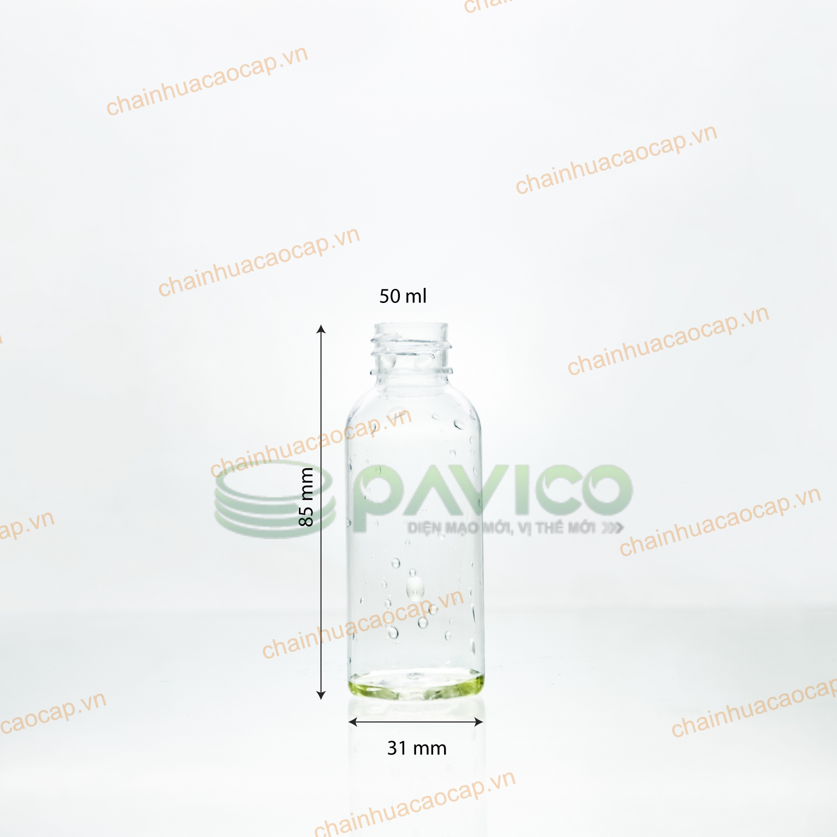 chai nhựa pet 50ml