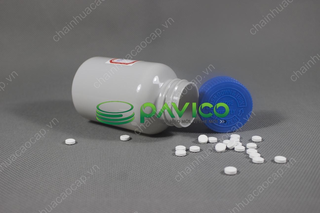 chai lọ đựng dược phẩm thuốc viên