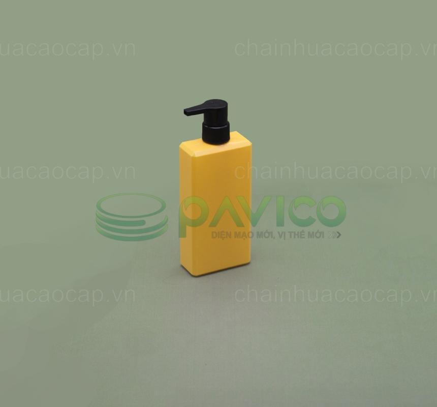chai nhựa pet đựng dầu gội